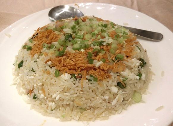 マレーシア クアラルンプール「皇宮海鮮酒家 Grand Palace Restaurant」炒飯