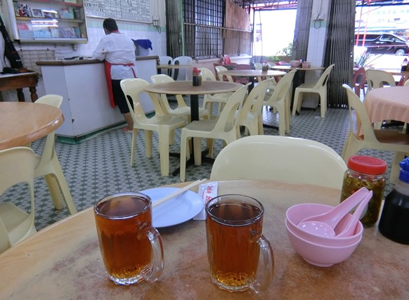 マレーシア クアラルンプール「Soo Kee Restaurant ソーキー」お茶