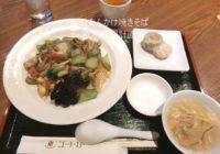 銀座/有楽町「中国料理 桃杏樓 とうあんろう」五目焼きそばセット