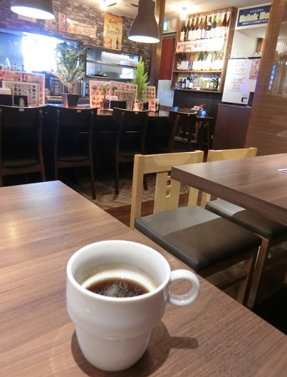 新小岩「創作中華酒房 食全食美」ランチコーヒー