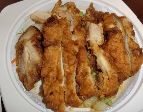 デリバリー 銀座 謝謝美食 若鶏唐揚げユーリンソース