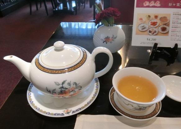 ホテルオークラ東京 桃花林 お茶ポット