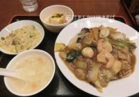 西新宿 中華料理 蜀香園 五目焼きそば