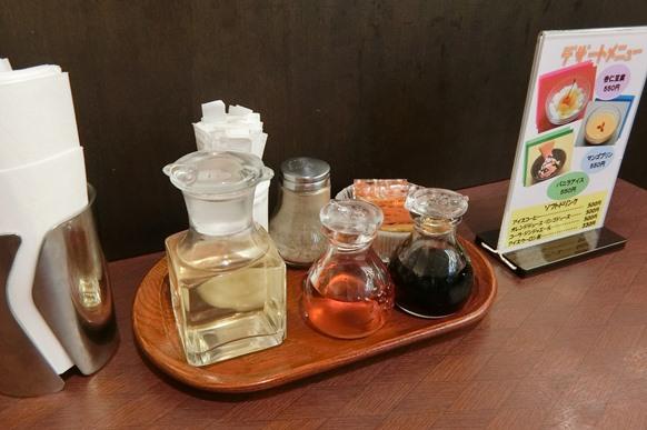 新宿 小田急百貨店 龍門 テーブル調味料