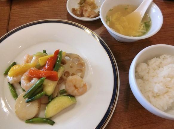 学芸大学「中華銘菜 慶 Qing チン」今週のランチセット