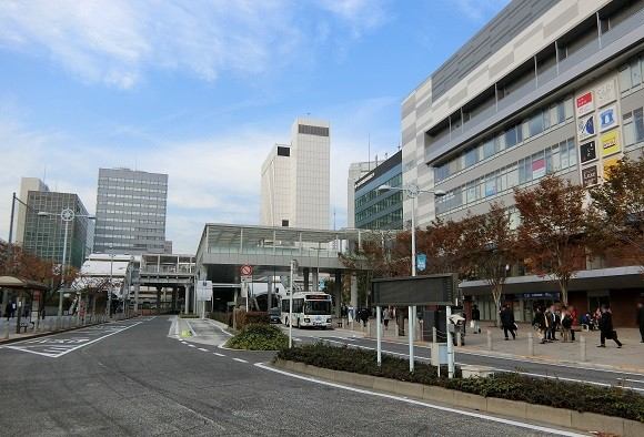 田町駅 芝浦口 東口 2018年11月
